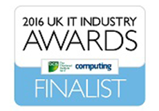 2016 UK IT Industry Award Finalist