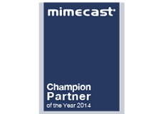 Mimecast Champion Partner Award 2014